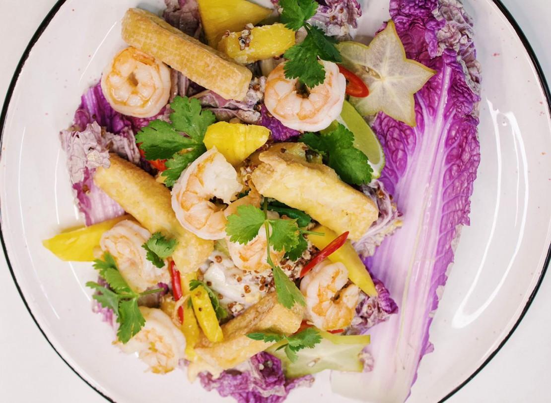 Тайский салат от шефа Дмитрия Руденко