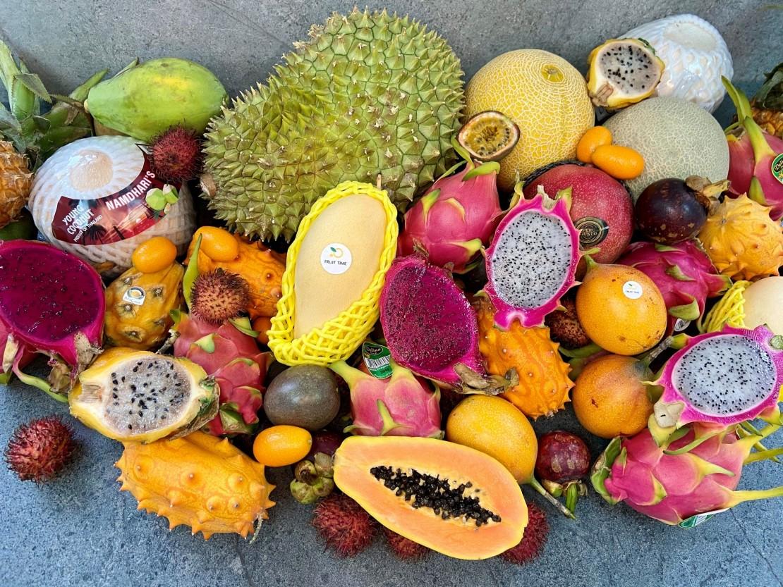10 екзотичних фруктів