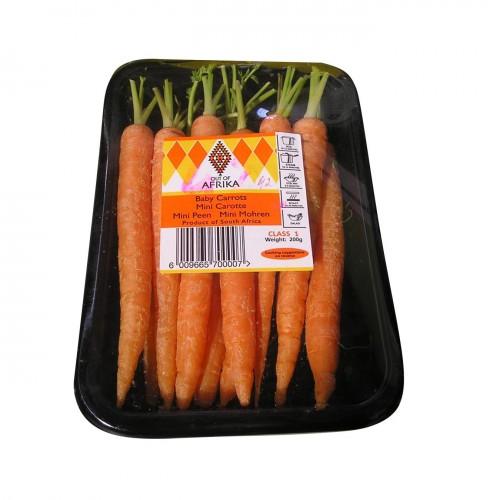 Морковь беби 200 г