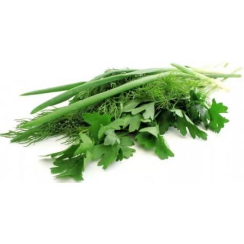 Зелень мікс2 (кріп,петр.лист,циб.зел) 150г