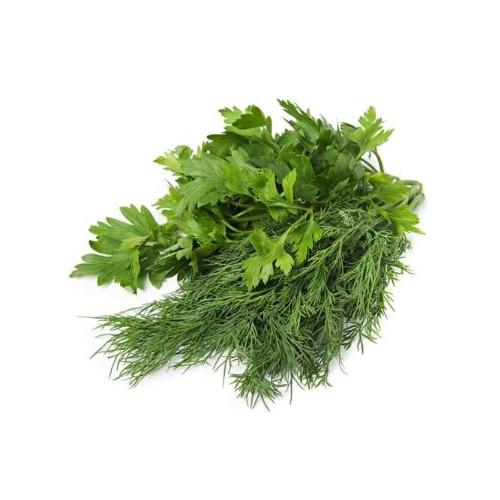 Зелень мікс1 (кріп, петр.лист) 100г